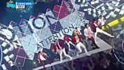 165.0528-4 Up10tion - Attention, Show! Music Core E506 (280516)