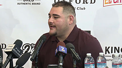 USA: Andy Ruiz Jr. holds open training ahead of Anthony Joshua rematch