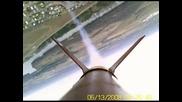самоделна ракета с прикрепена камера !!!