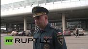 Russia: Plane crash crisis centre and hotline set up, confirms EMERCOM's Anikin