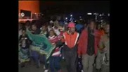 Демонстрация в подкрепа  на обвинен в корупция в ЮАР