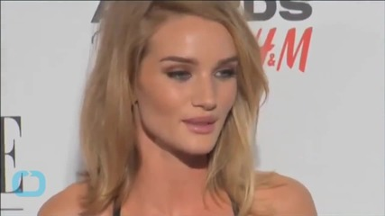 Rosie Huntington-Whiteley Says She Loves Junk Food