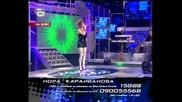 Мюзик Айдъл 2 - Нора Караиванова - На Сцена