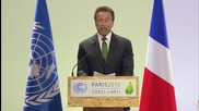 France: Arnold Schwarzenegger calls on COP21 to unite to tackle climate change