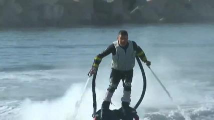 Jetpack с който плувате като делфин :)