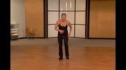 За дами- свалете килограми чрез кикбокс движения. Тренировка 1.