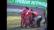 ЦСКА - Славия - Сакалиев Задна Ножица