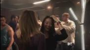 Teen Wolf 4x01 || Malia & Kira dance scene