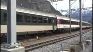 Заваряване на релсов път с термит в Швейцария - Thermite welding Railway Tech Switzerland