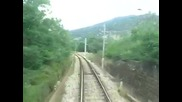 - Bdz Klisura - Strema from the locomotive cab