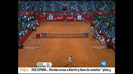 Ферер се класира на полуфинал в Буенос Айрес