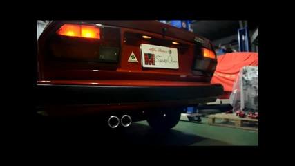 Alfa Romeo Gtv6 exhaust sound