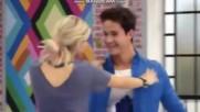 """Soy Luna 3 ep.55 Симон и Амбър танцуват на """" Solos """""""