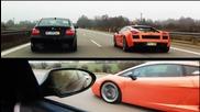 • Живот на Улицата• B M W - M5 E60 Срещу Lamborghini Gallardo
