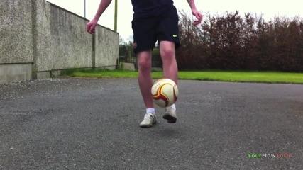 Touzani Around The World (tatw) Tutorial __ Freestyle Football _ Soccer