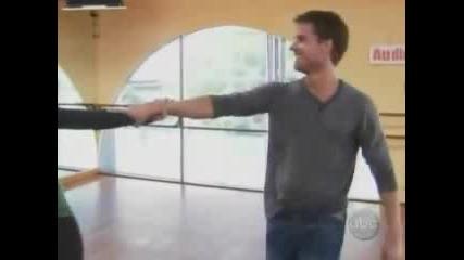 Priscilla Presley Dance Fox Trot