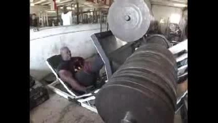 Ronnie Coleman 2300 Lb Leg Press