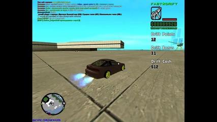 Gta sa drift with Nissan 240sx