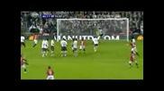 Manchester United vs Arsenal Hargreaves Goal