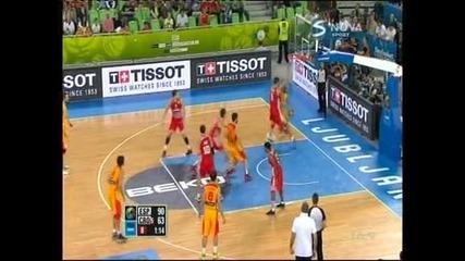 Испания спечели бронзовите медали на Европейското по баскетбол в Словения след ппобеда срещу Хърватия