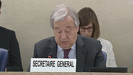 Switzerland: UN's Guterres launches 7-point 'call to action' on human rights