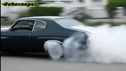 1972 Chevrolet Chevelle Burnout