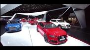 Audi на автосалона в Париж 2014
