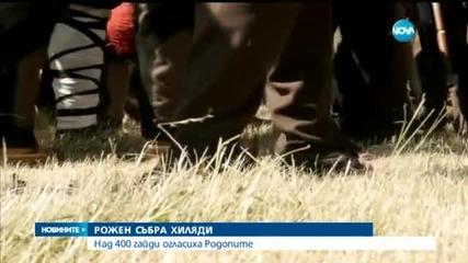 Роженският събор беше открит с Валя Балканска и 400 гайди- централна емисия