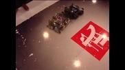 Роботи демонстрират футболни умения на РобоКъп 2014 в Китай