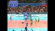 България - Русия 3:2 гейма
