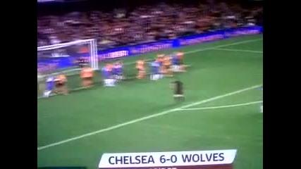 Челси 6 - 0 Улвърхемптън
