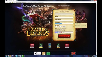League Of Legends Working Rp Bug 2013 August [hd]