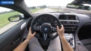 Bmw M6 Pov Competition 600hp Test Drive Sound Accelerations