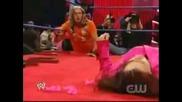 Wwe - Rey Mysterio vs Edge and Vickie Guerrero
