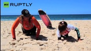 Meet Caroline Lima, The Nine-Year-Old Amputee Surfer