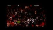 Wwe Nexus изоставят Wade Barrett Raw 12.06.10