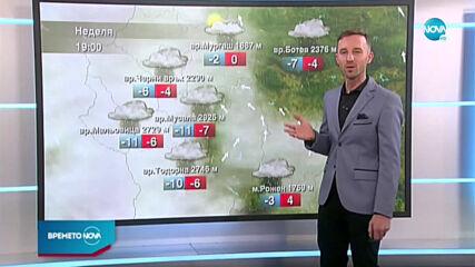 Прогноза за времето (24.01.2021 - обедна емисия)