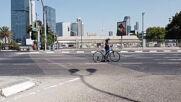 Israel: Empty roads on Yom Kippur bring out children for 'bike festival'