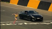 Nissan Gtr срещу жена Top Gear Festival Sydney