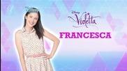 Виолета: Франческа - моя характер Бг Аудио