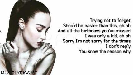 Demi Lovato - Shouldnt Come Back