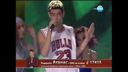 Атанас Колев X Factor (12.12.13)