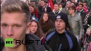 Germany: Antifa scuffle with police at PEGIDA demo