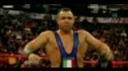 John Cena & Trish Stratus vs Glamarella - [raw, 22.12.2008]