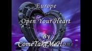 Europe - Open Your Heart - Bg prevod