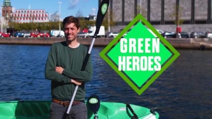 Free kayaks? The cool way a man got people to pick up trash