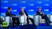 """Russia: Putin tells 'Business Russia' forum """"we have to make most"""" of sanctions """"situation"""""""