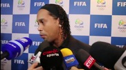 Brazil: Ronaldinho and Pellegrino make Olympics football draw