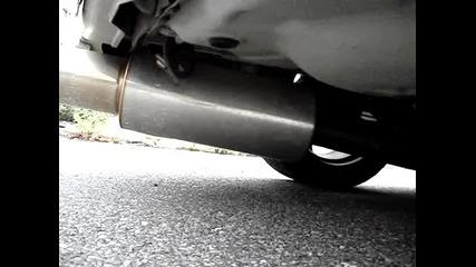 Subaru Impreza Hks Power exhaust sound