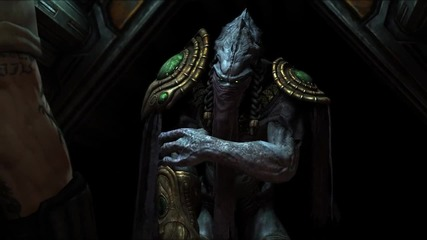 Starcraft Ii Wings of Liberty - Raynor and Zeratul Cinematic Hd